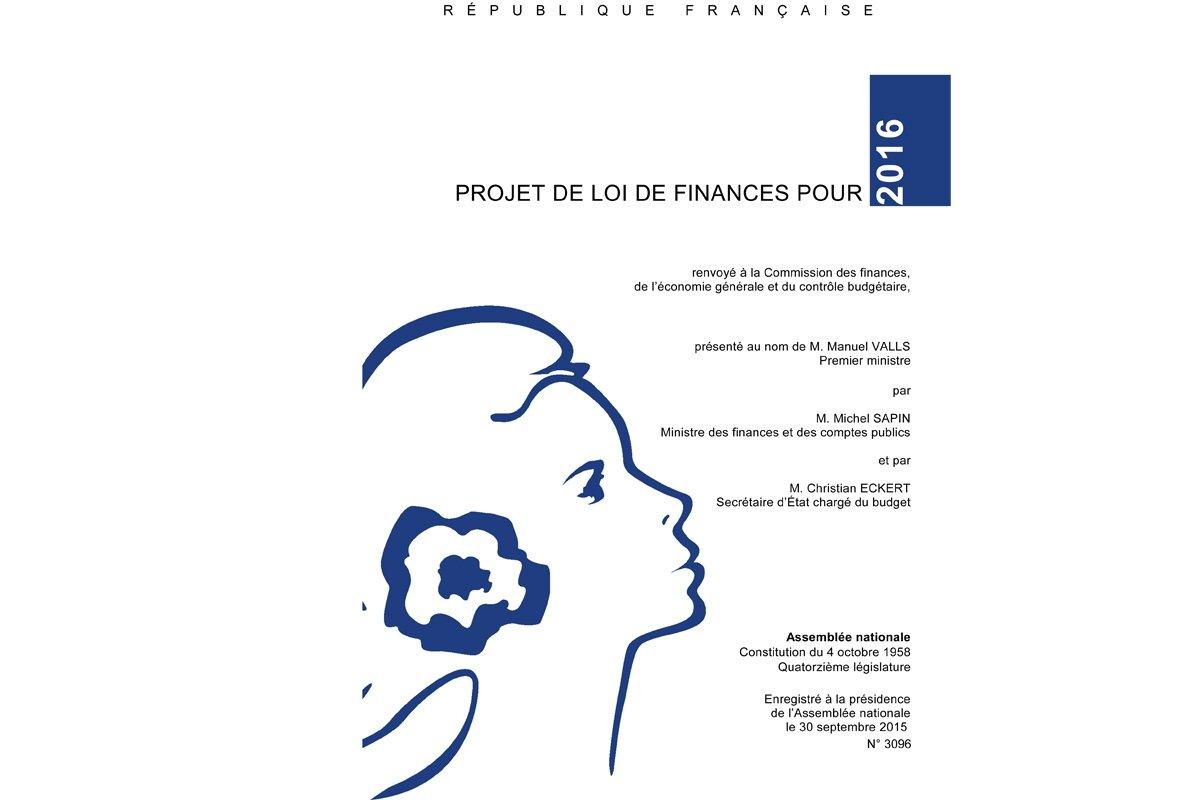 Loi De Finances 2016 Et Loi De Finances Rectificative 2015
