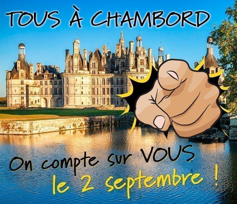 Chambord, on compte sur vous !