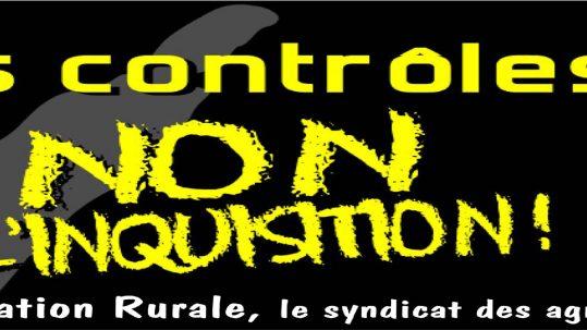 Les contrôles, non à l'inquisition
