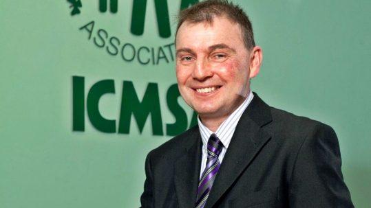 Pat Comer, President, Irish Creamery Milk Suppliers' Association (ICMSA).  - Photo: Kieran Clancy   © 19/1/12 **NO FEE ** With Compliments ICMSA