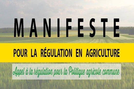 Manifeste pour la régulation en agriculture
