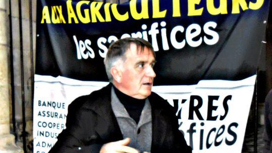 17/11/16, Orléans, P. Ribault a claqué la porte de la réunion