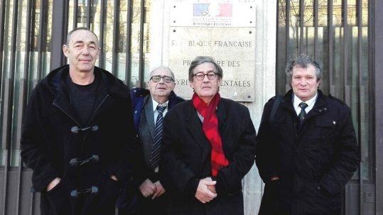 Philippe Maydat, Jean-Pierre Ricard, Pierre Escudié et Pierre Vigo