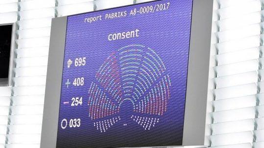 Nombre de votes CETA