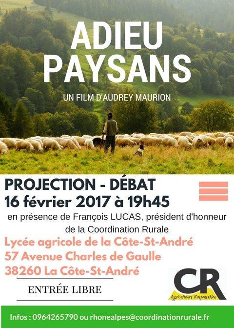 Affiche projection CR38