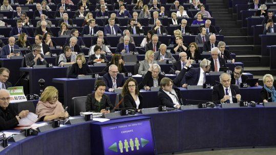 Plenary session Week 7 2017 in Strasbourg Vote CETA
