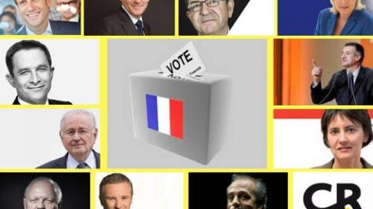 présidentielles 2017 candidats