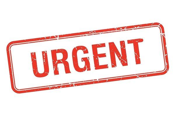 urgent - Coordination Rurale (CR)