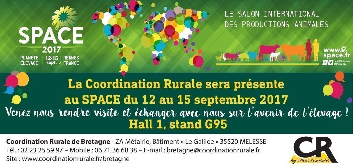 invitation au space de la CR