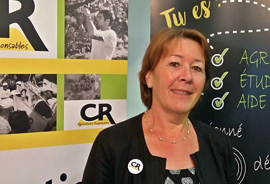 catherine laillé représentante CR aux EGA pour l'atelier 6