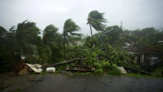 Ouragan Maria Martinique