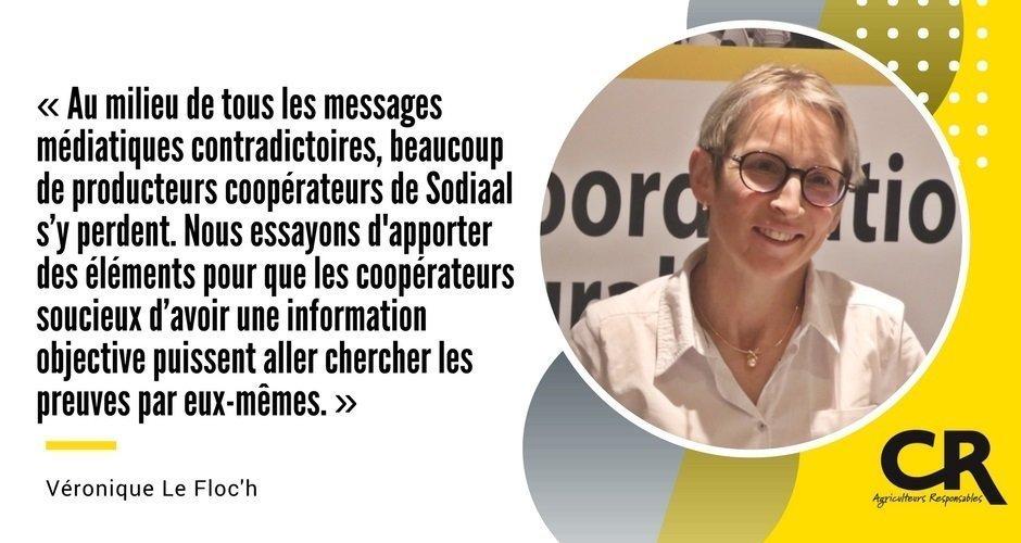 Sodiaal - Cash Investigation - Véronique Le Floc'h donne de nouveaux éléments