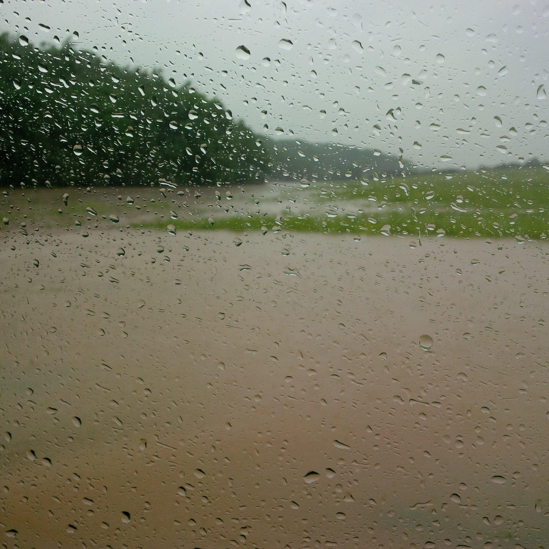 inondation vitre