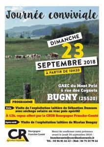 Invitation journée conviviale CRUR Bourgogne-Franche-Comté