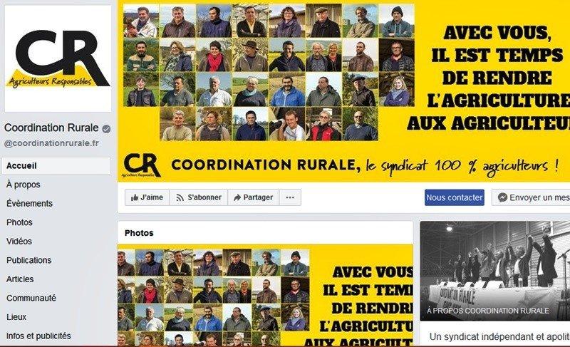 facebook coordination rurale