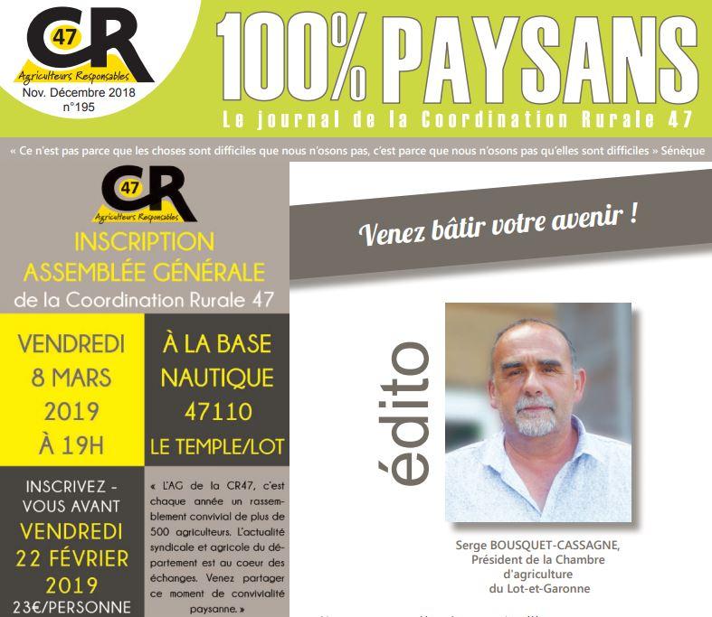 100% paysans cr47