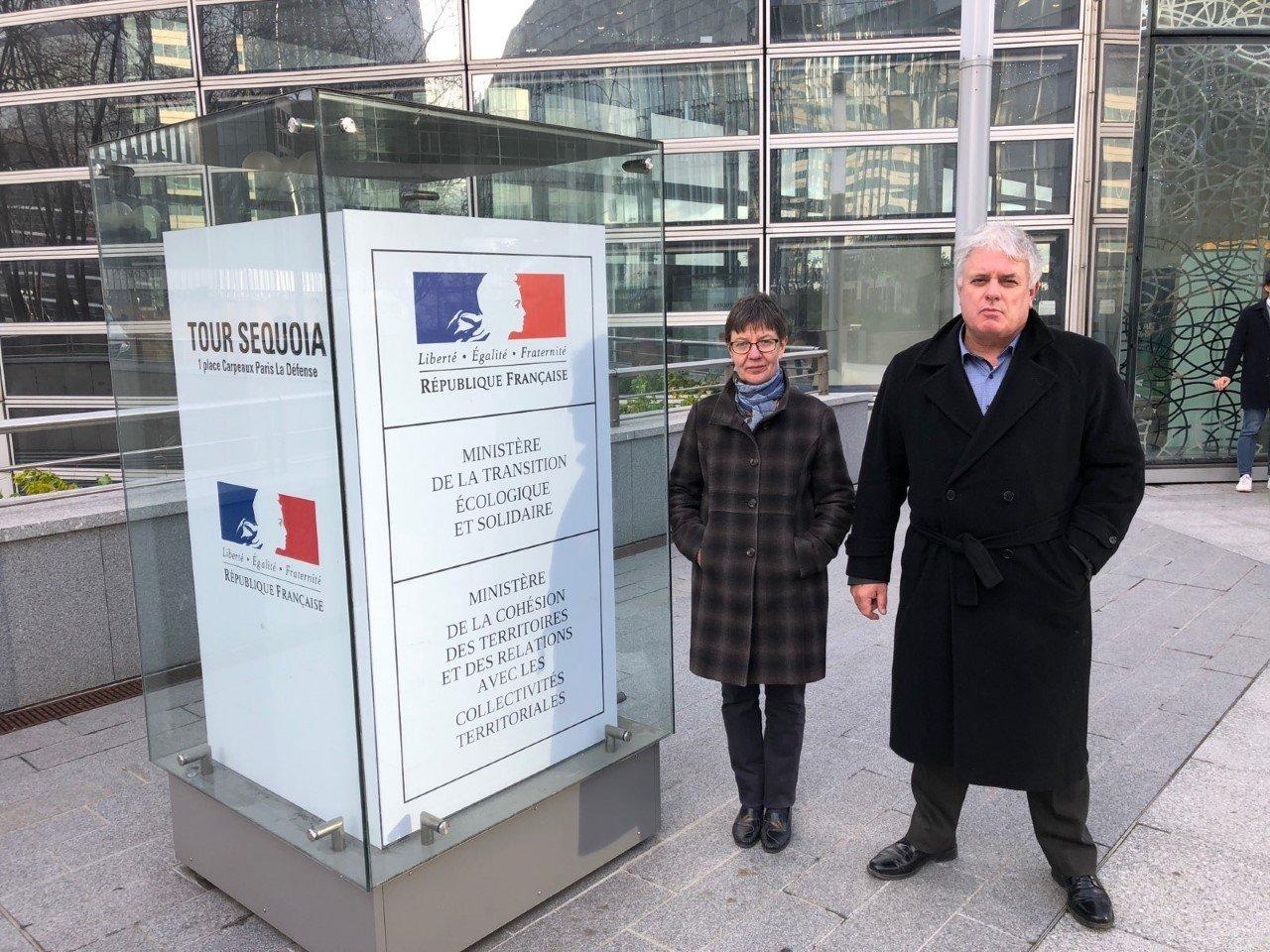 Michel Le Pape et Lydie Deneuville