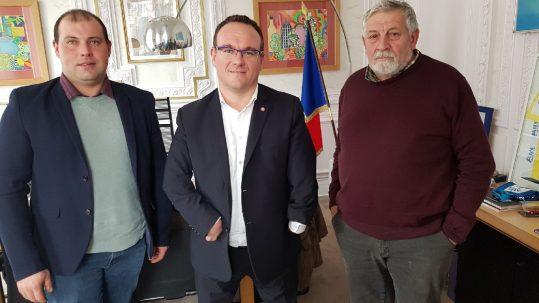 Rencontre Alexandre Armel, Jean-Louis Ogier et Damien Abad