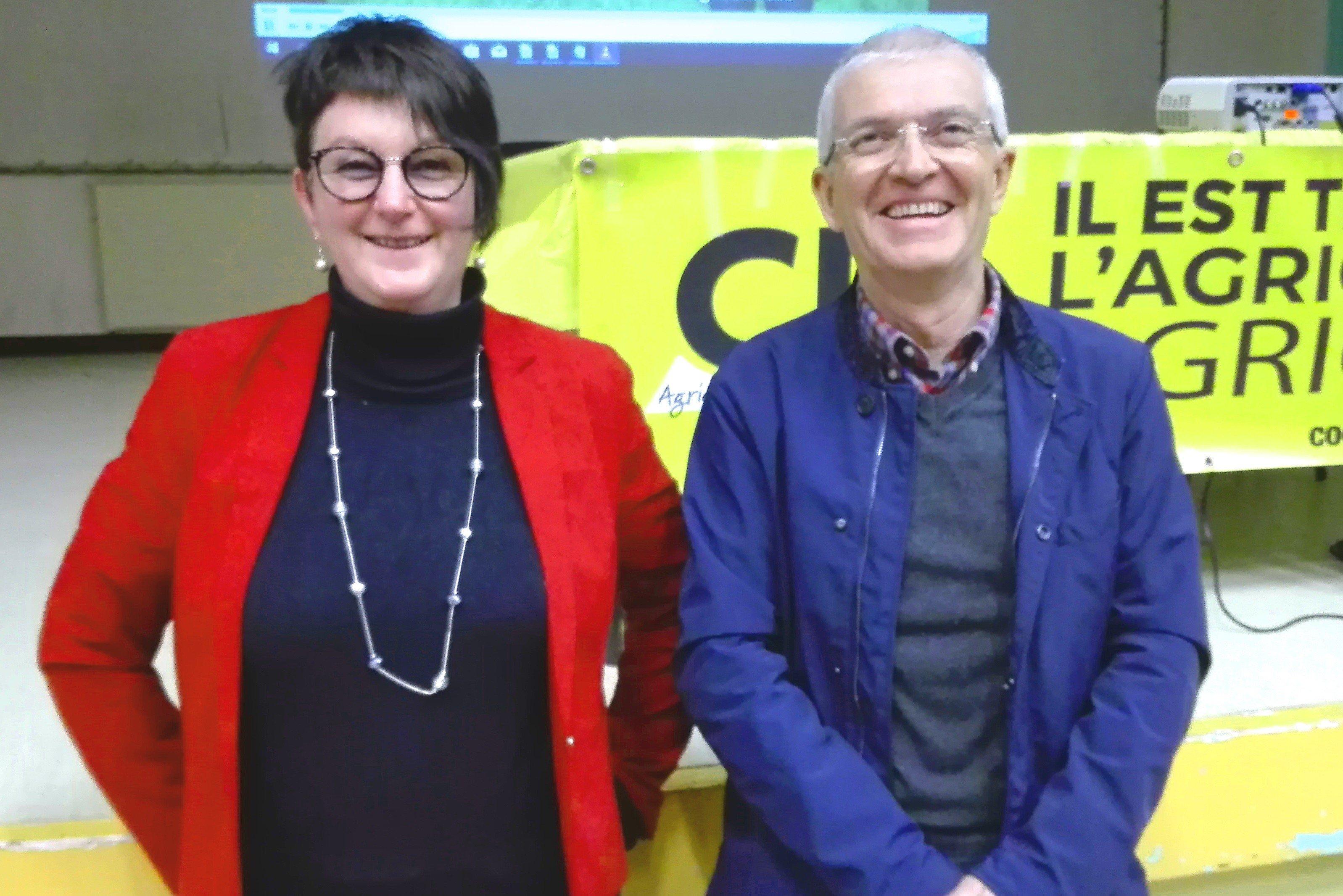 Yvette et Bernard