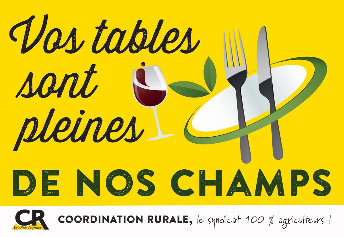 Affiche Vos tables