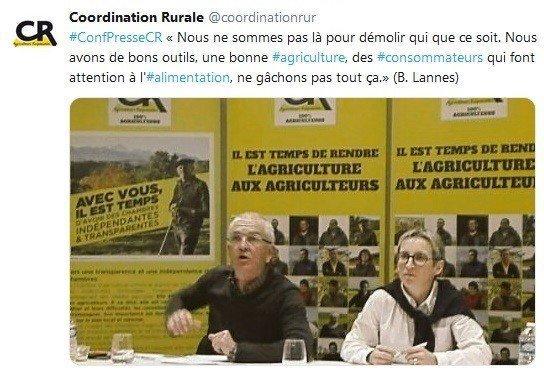 Bernard Lannes et Véronique Le Floc'h - Conférence de presse des vœux 2019 : élections aux Chambres et RSE
