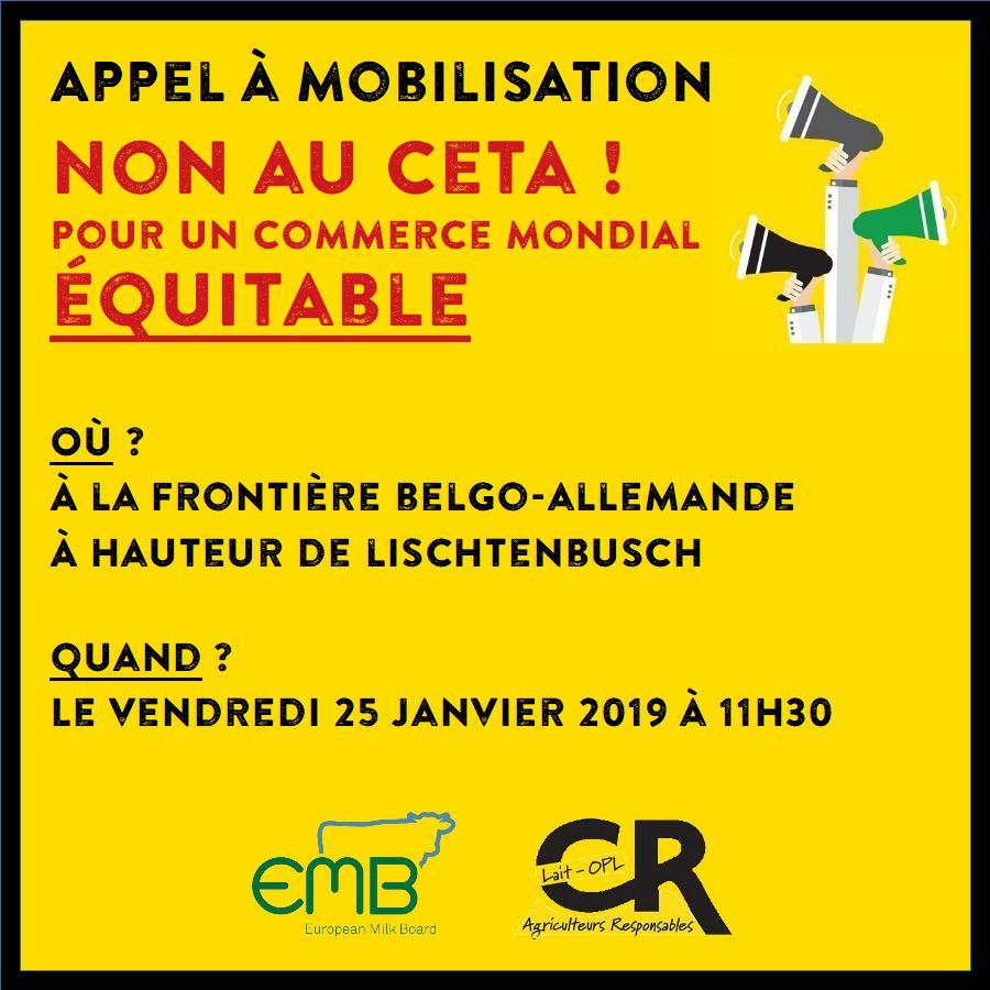 Mobilisation EMB CETA