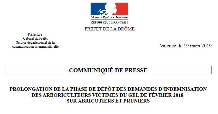CP Préfecture Drôme