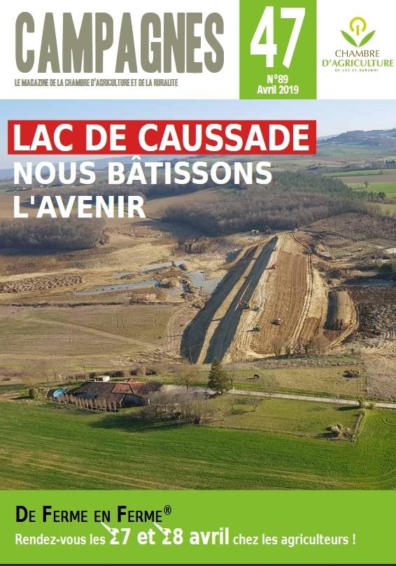 Campagnes 47 - Avril 2019 - Lac de Caussade