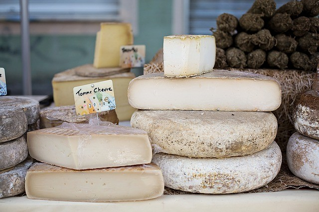 Fromages marché