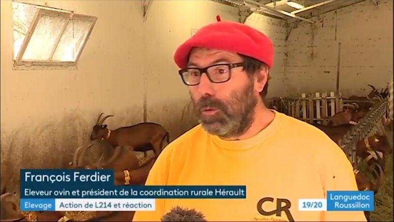 François Ferdier France 3 LR discours L214