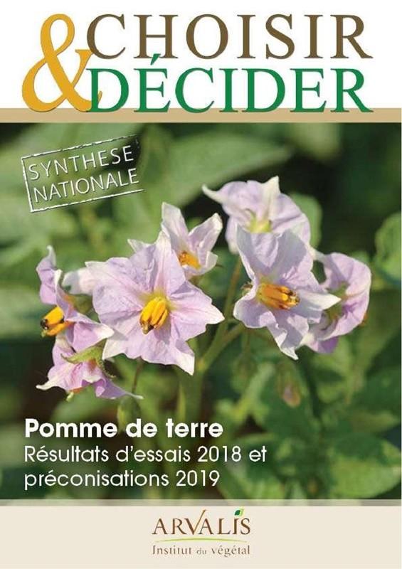 Guide arvalis Choisir et Décider Pomme de terre 2018-2019