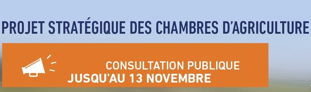 Consultation publique Chambre Agriculture