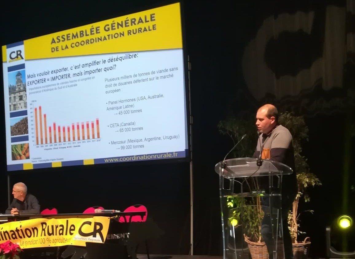 Alexandre Armel congrès CR 2019