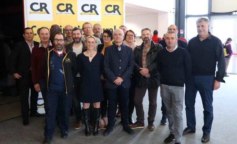 comité directeur CR