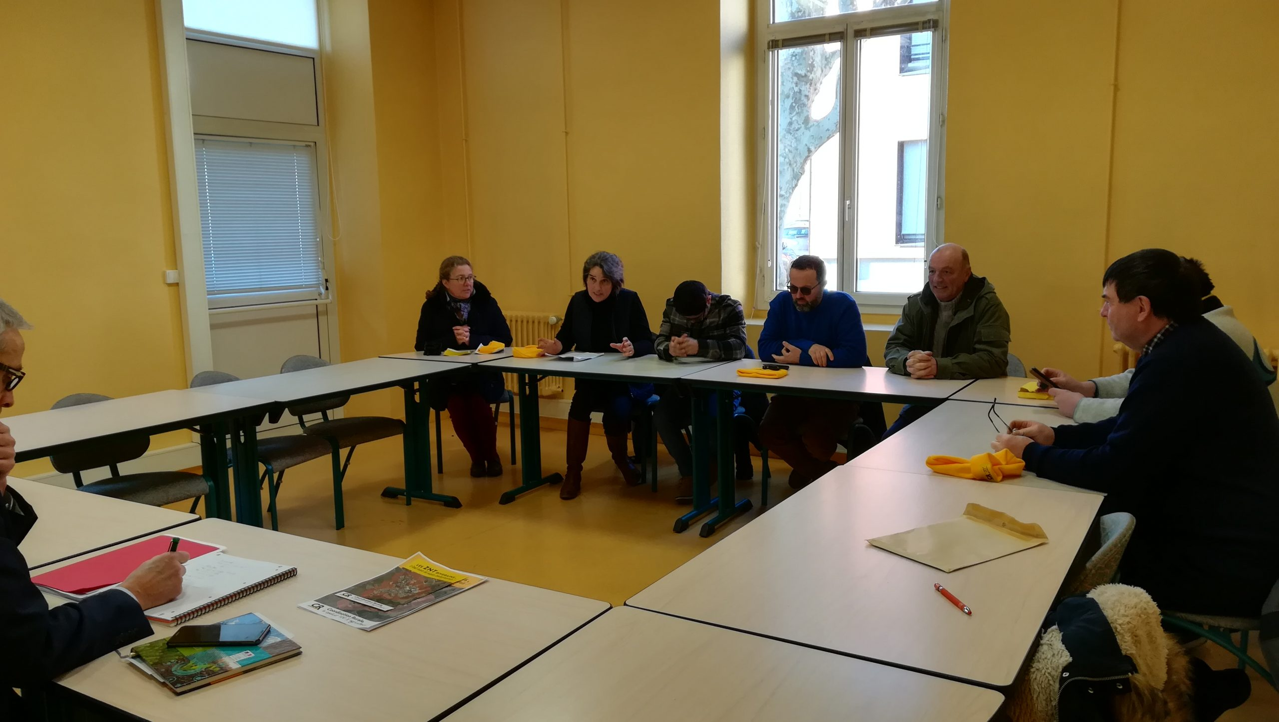 20 01 2020 manifestation ZNT Coordination Rurale Draaf Orléans (3)