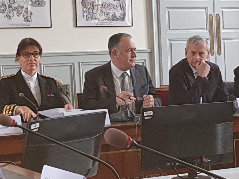 Préfecture du Gers - Rencontre Didier Guillaume sur les ZNT et les retraites