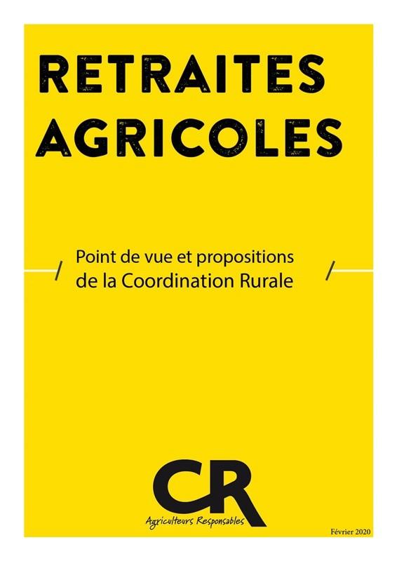 2020 02 Dossier réforme des retraites agricoles - Une