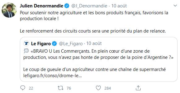 Tweet Denormandie