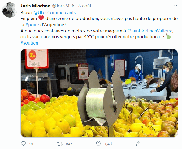 Tweet Joris