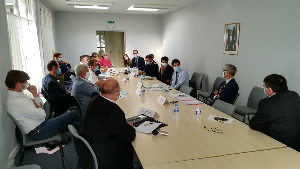 CR 45 rencontre ministre agriculture Julien Denormandie