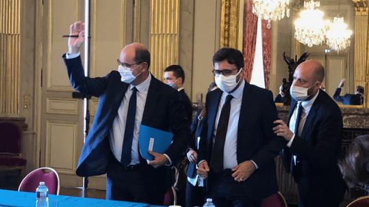 Rencontre Christophe et Jean Castex CR 10