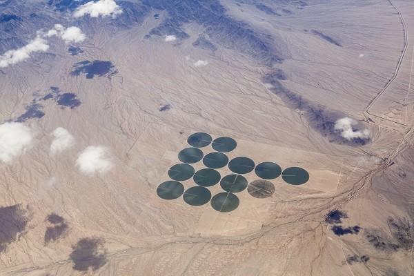 pivot irrigation desert